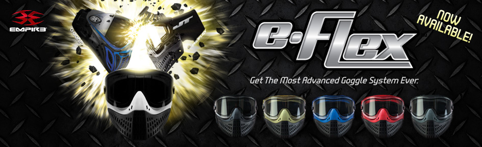 eFlex Paintball Goggle System